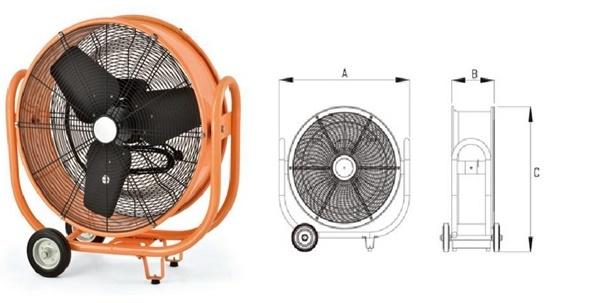 Modern industrial Ventilation Fan