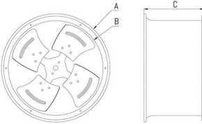axial fan 6