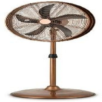 Brown Drum Stand Fan