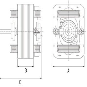 GW Shaded Pole Motor A21 1