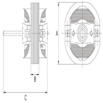 GW Shaded Pole Motor B21