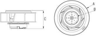 motor impeller 4