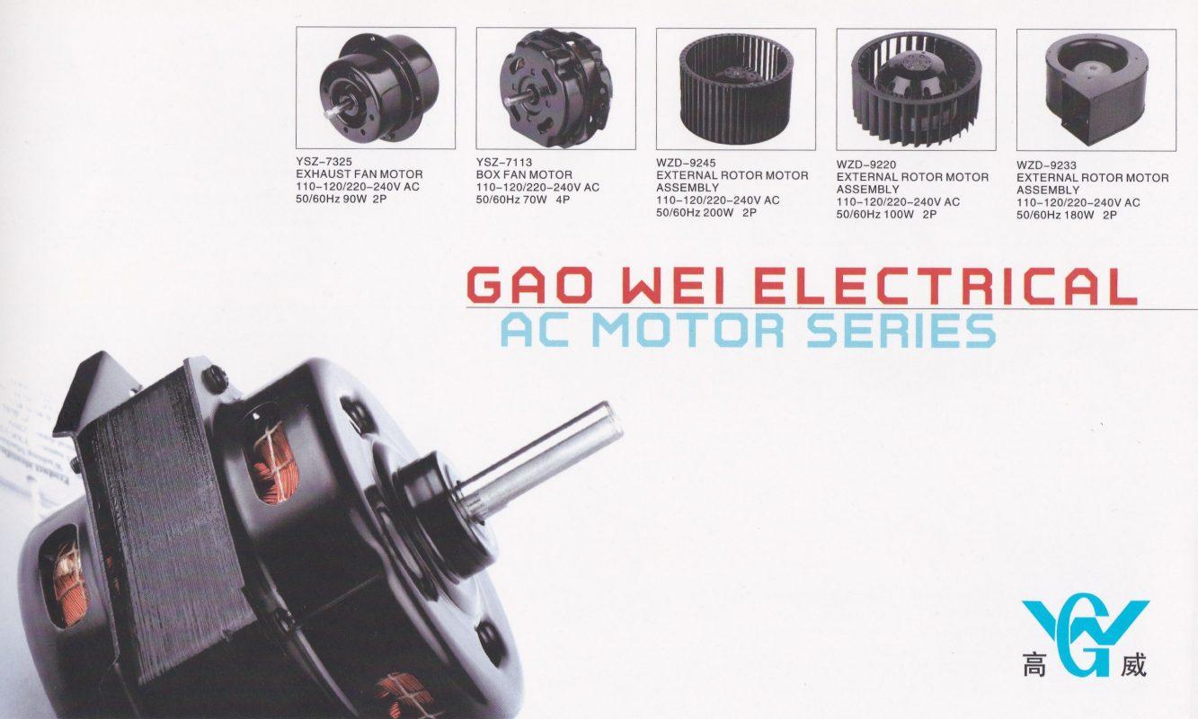 electrical motors supplier